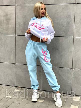Теплые спортивные брюки / арт.600230, фото 2