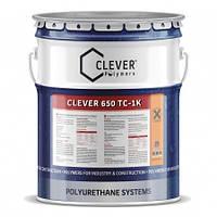 Цветное защитное покрытие для пола Clever 650 TC (4кг)