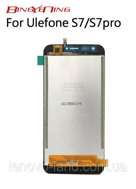 Модуль для Ulefone S7 дисплей + сенсор