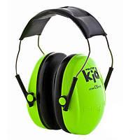 Дитячі протишумні навушники 3М Peltor Kids Зелені (877-02)