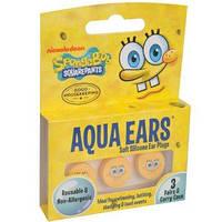 Дитячі силіконові беруші Square Pants Sponge Bob 3 пари (885-02)