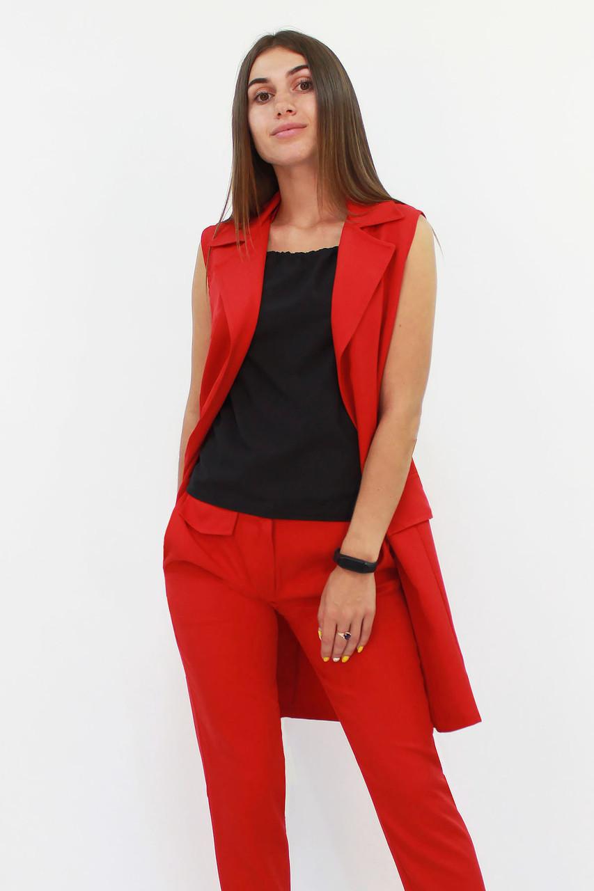Женский удлиненный костюм Endru, красный