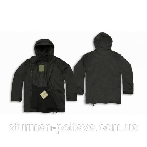 Куртка тактическая ''ECSWC Parka'' Black MiL-Tec  Германия