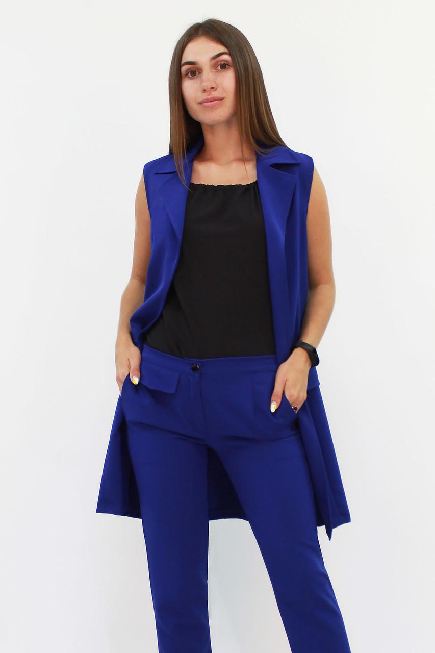 Женский удлиненный костюм Endru, синий