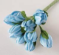 Бутоны голубые 5 шт., фото 1