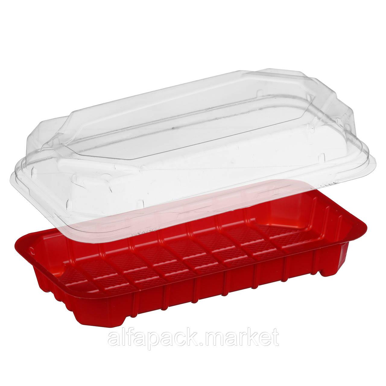 ПС-67 Д+К Упаковка для суши ( В упаковке 750 шт)