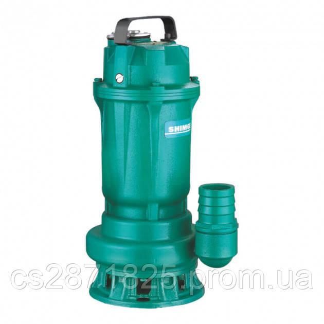 Насос SHIMGE WQD6-12-0.55L3(F) дренаж.(0.55кВт, Нmax=14м, Qmax=250 л/мин, штуцер д50мм)