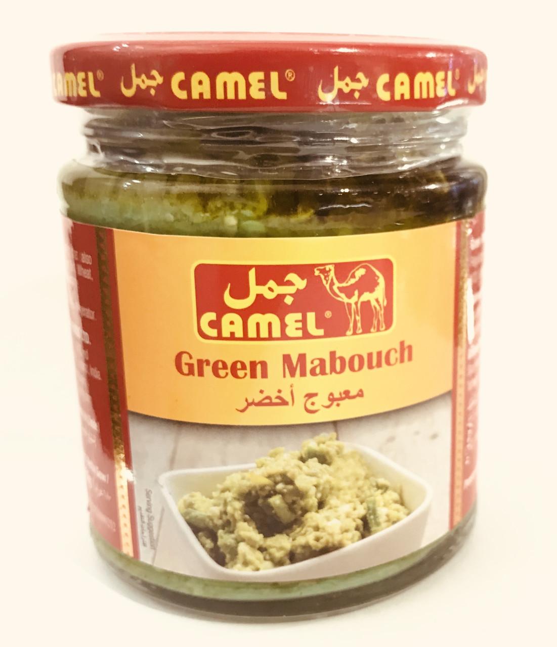 Чили паста из зелёного перца Camel 200 грамм