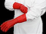 Рукавички латексні медичні анатомічні, фото 4