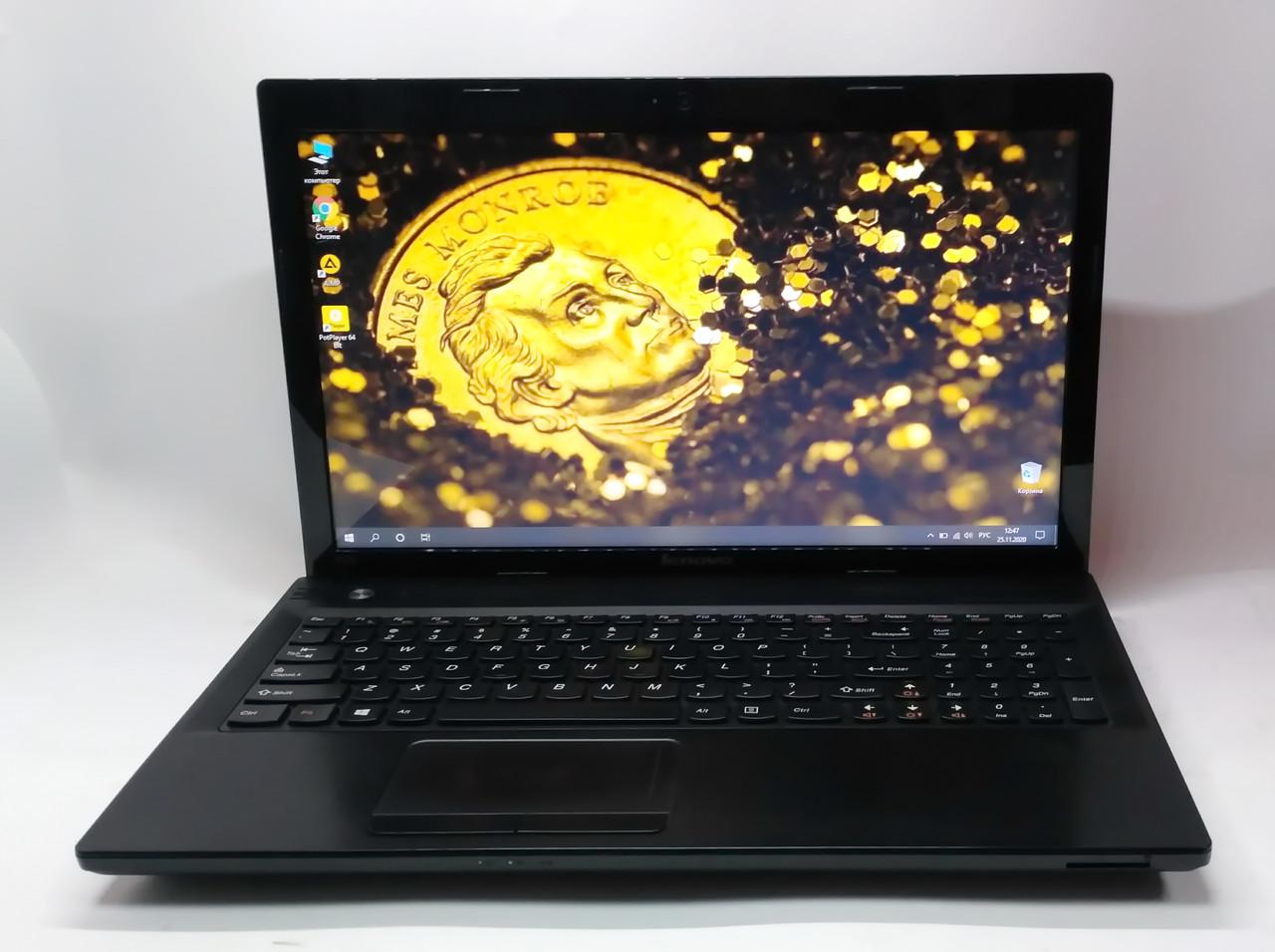 "Ноутбук Lenovo IdeaPad N580 15.6"" Intel Core i3-2310M 2.1 GHz 4 GB RAM 320 HDD Black Б/У"