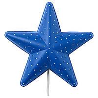 IKEA SMILA STJARNA (900.108.77) Настенный светильник, синий