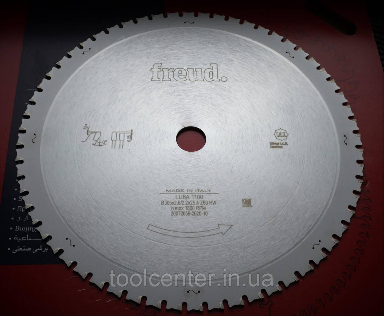 Пила для стали металла Freud 305х2,6/2,2х25.4 Z60
