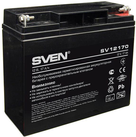 Акумуляторна батарея Sven 12V 17AH (SV 12170) AGM