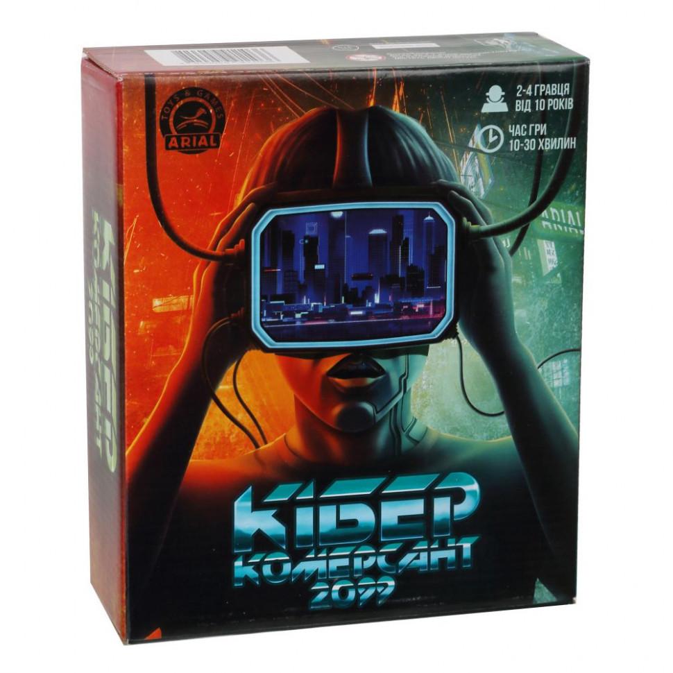 Настольная игра Arial Кибер Коммерсант 911036K