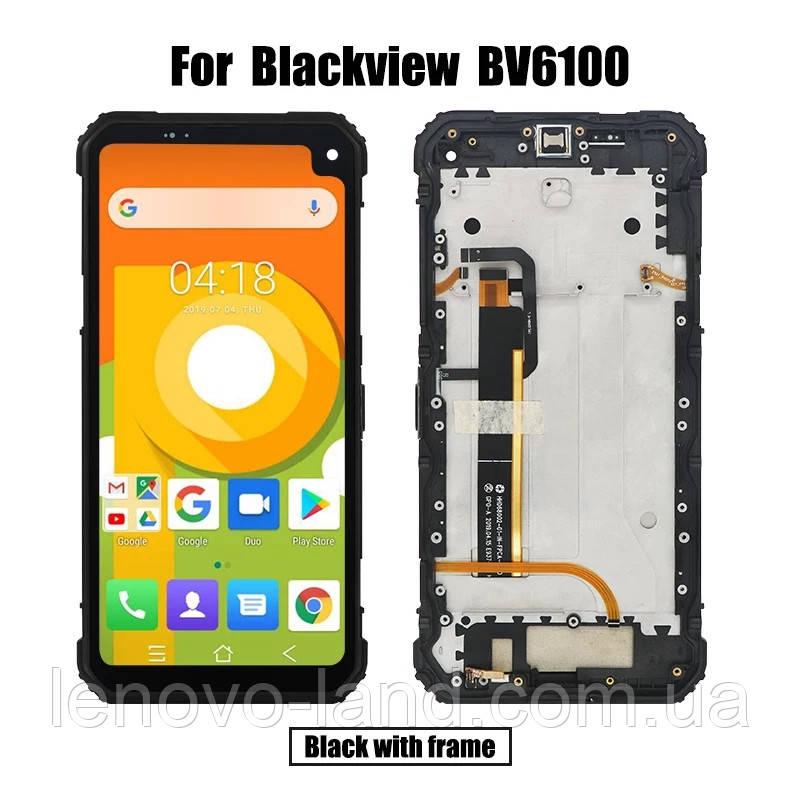 Модуль для Blackview BV6100 дисплей + сенсор + рамка