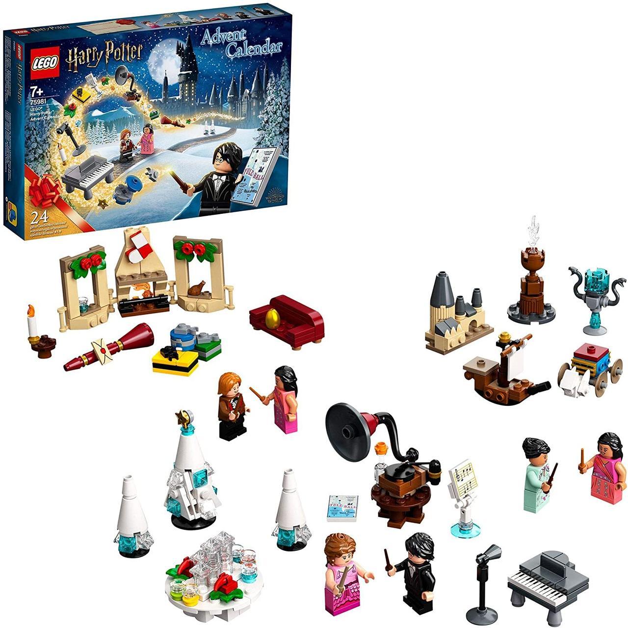 LEGO Harry Potter адвент календарь  Гарри Поттер 2020 года 75981