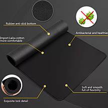 Коврик для мышки Easy Idea черный 25*30 см, фото 3