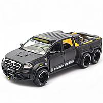 Детская машинка игровая автопром «Mercedes» (Мерседес) пикап, 20 см, свет, звук, двери открываются (7584), фото 4