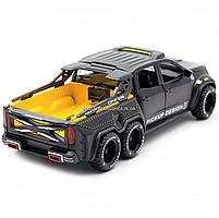Детская машинка игровая автопром «Mercedes» (Мерседес) пикап, 20 см, свет, звук, двери открываются (7584), фото 5