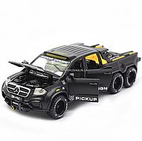 Детская машинка игровая автопром «Mercedes» (Мерседес) пикап, 20 см, свет, звук, двери открываются (7584), фото 6