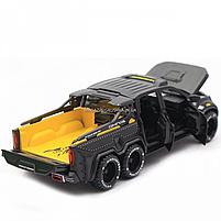 Детская машинка игровая автопром «Mercedes» (Мерседес) пикап, 20 см, свет, звук, двери открываются (7584), фото 8