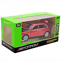 Дитяча машинка ігрова автопром «Rolls-Royce» (Роллс-Ройс) 15 см, світло, звук, двері відкриваються, червоний, фото 2