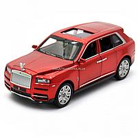 Дитяча машинка ігрова автопром «Rolls-Royce» (Роллс-Ройс) 15 см, світло, звук, двері відкриваються, червоний, фото 4