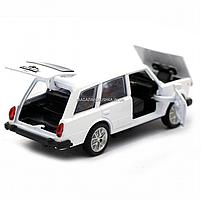 Детская машинка игровая автопром «ВАЗ 2102» 12 см, свет, звук, двери открываются, белый (7501), фото 6