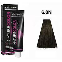 Безаміачна крем-фарба для волосся Abril et Nature Nature Color Plex 6.0 N Темно-русявий інтенсивно натуральний 120 мл