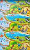 """Игровой коврик для ползания ребенка """"Мадагаскар"""" M 1200x600x8мм, фото 5"""