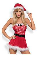 Комплект Obsessive Mrs. CLAUS DRESS