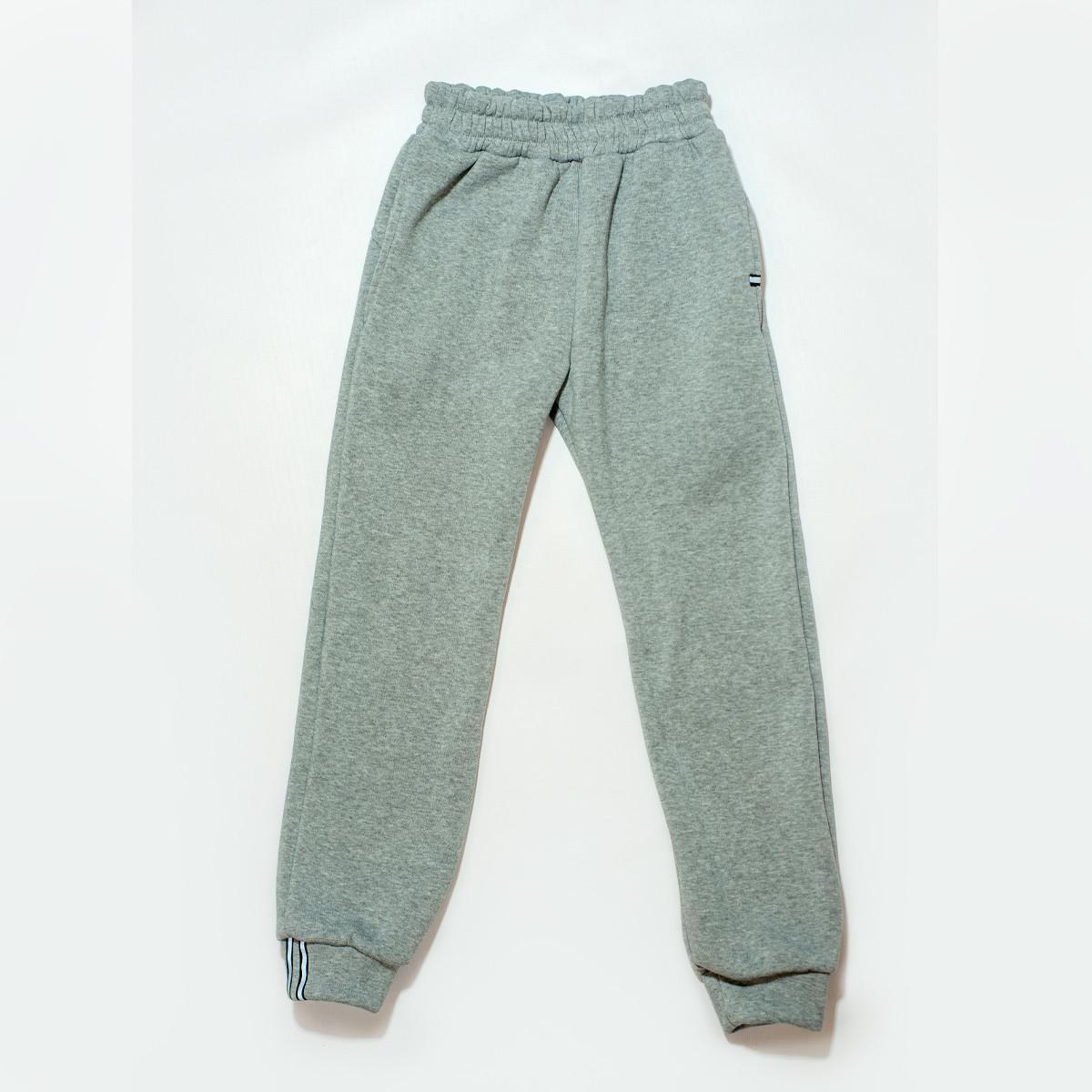 Штаны утепленные для мальчика, SmileTime Novel, серые