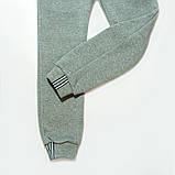 Штаны утепленные для мальчика, SmileTime Novel, серые, фото 3