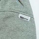 Штаны утепленные для мальчика, SmileTime Novel, серые, фото 4