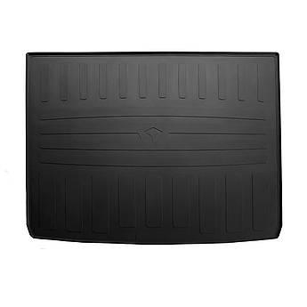 Резиновый коврик в багажник для RENAULT Duster 4WD  2018- (запасное колесо в багажнике) Stingray