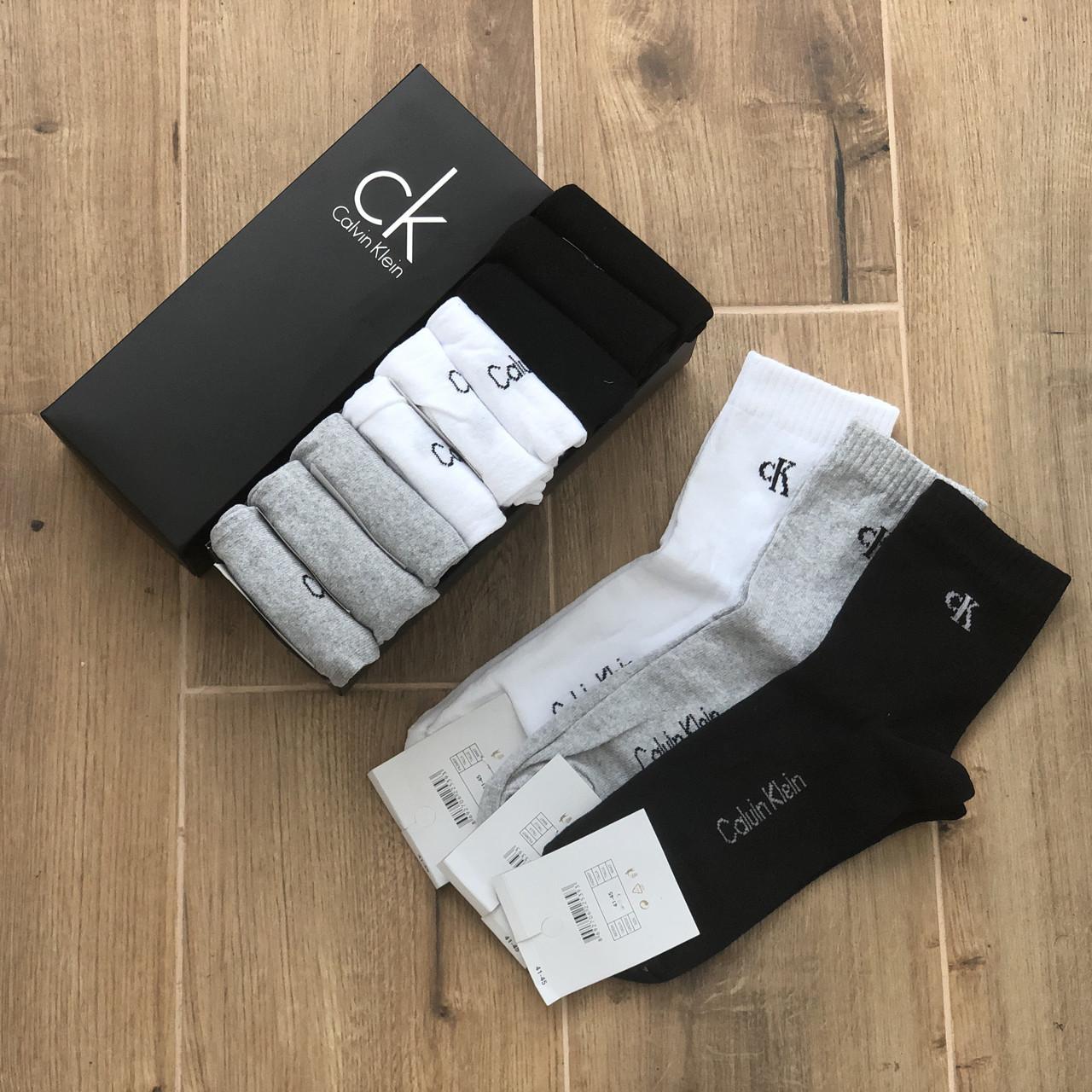 Набор средних носков, мужские Кельвин 9 пар в подарочной упаковке!