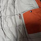 Теплая модная зимняя куртка для мальчика синего цвета. Утеплитель- холлофайбер., фото 2