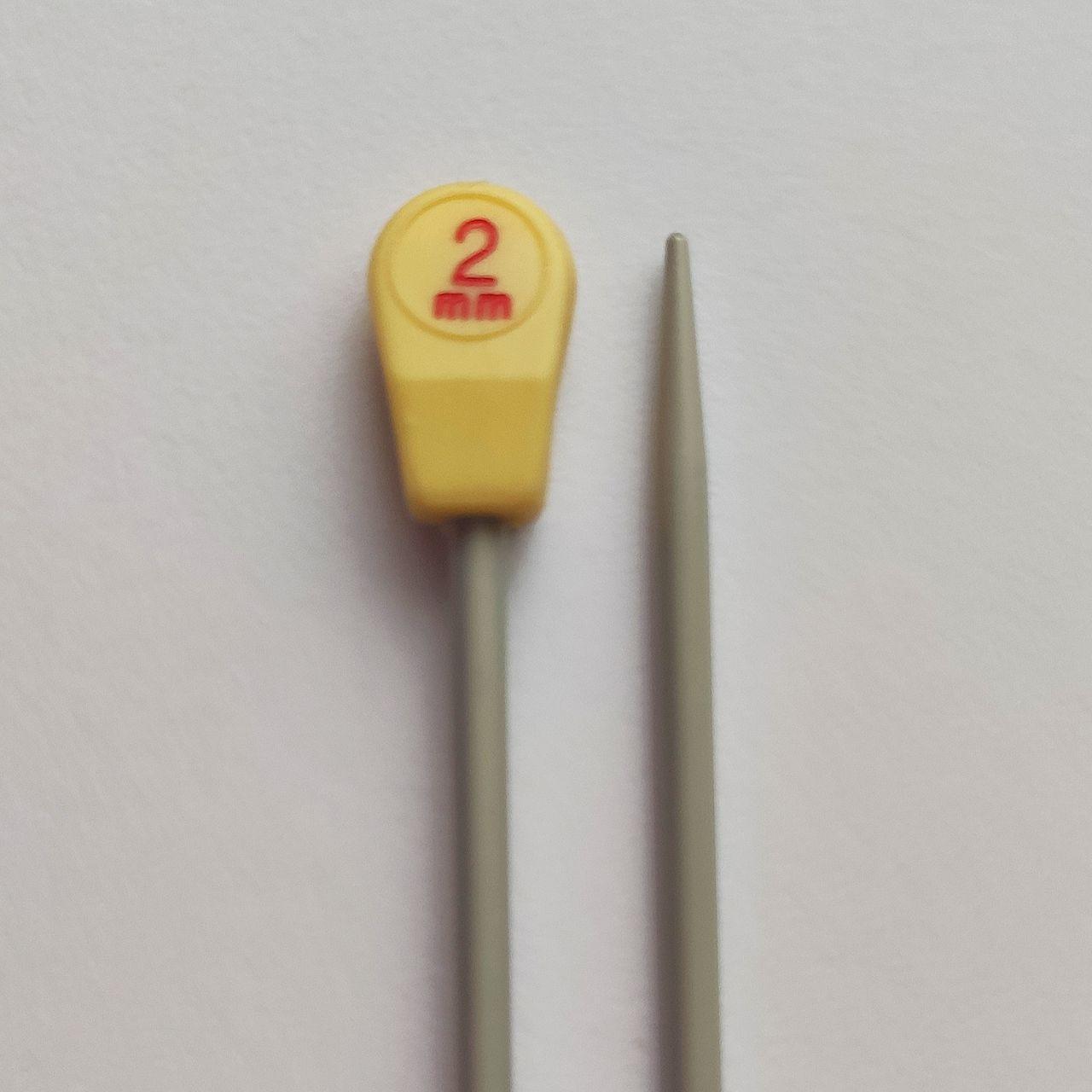 Прямі спиці 2; 2,5; 3; 4; 7 мм ВВВ 2