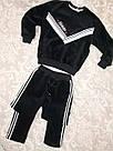 Велюровый тёплый костюм на девочку, фото 7