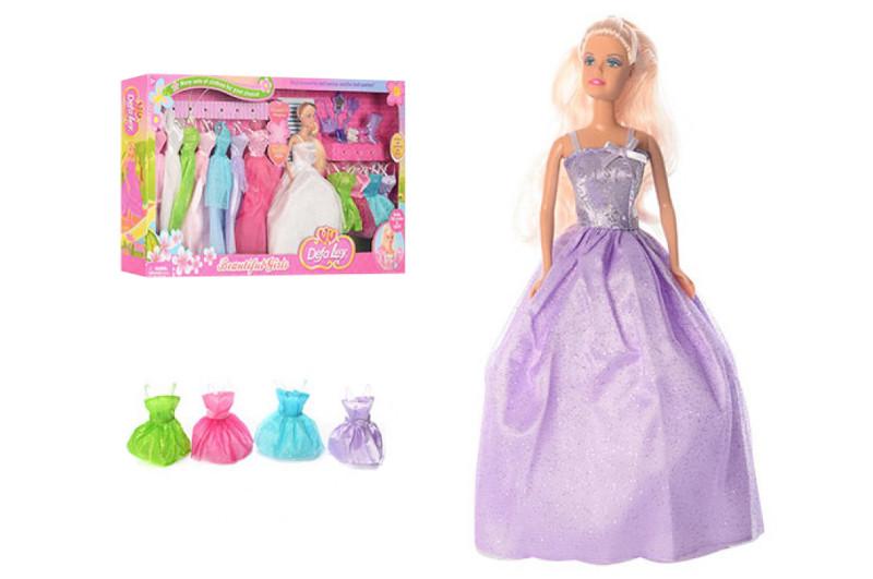 Кукла Дефа Люси с одеждой 8027, 11 платьев