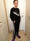 Велюровый тёплый костюм на девочку, фото 3