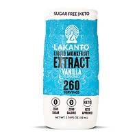 Рідкий підсолоджувач Lakanto Liquid Monkfruit Vanilla 52мл