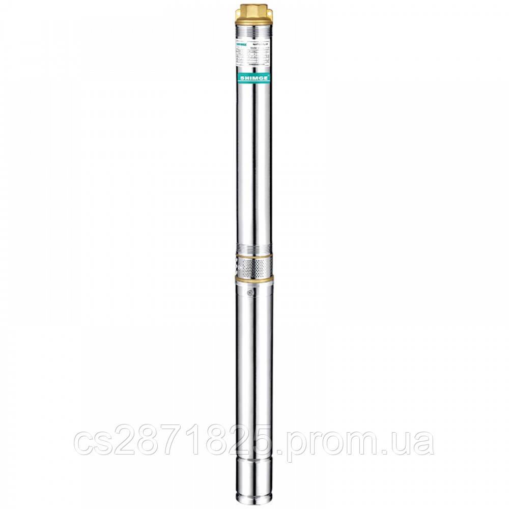 Насос SHIMGE 3SPm2.5/7-0.25 (20м кабеля) ц/беж. 0,25кВт Н 29(21)м Q 70(40)л/мин Ø75мм