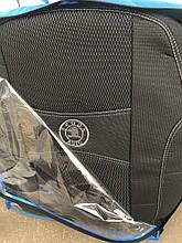 Чехлы на сиденья модельные (автоткань) Skoda superb III (шкода суперб) 2015+ деленная, airbag
