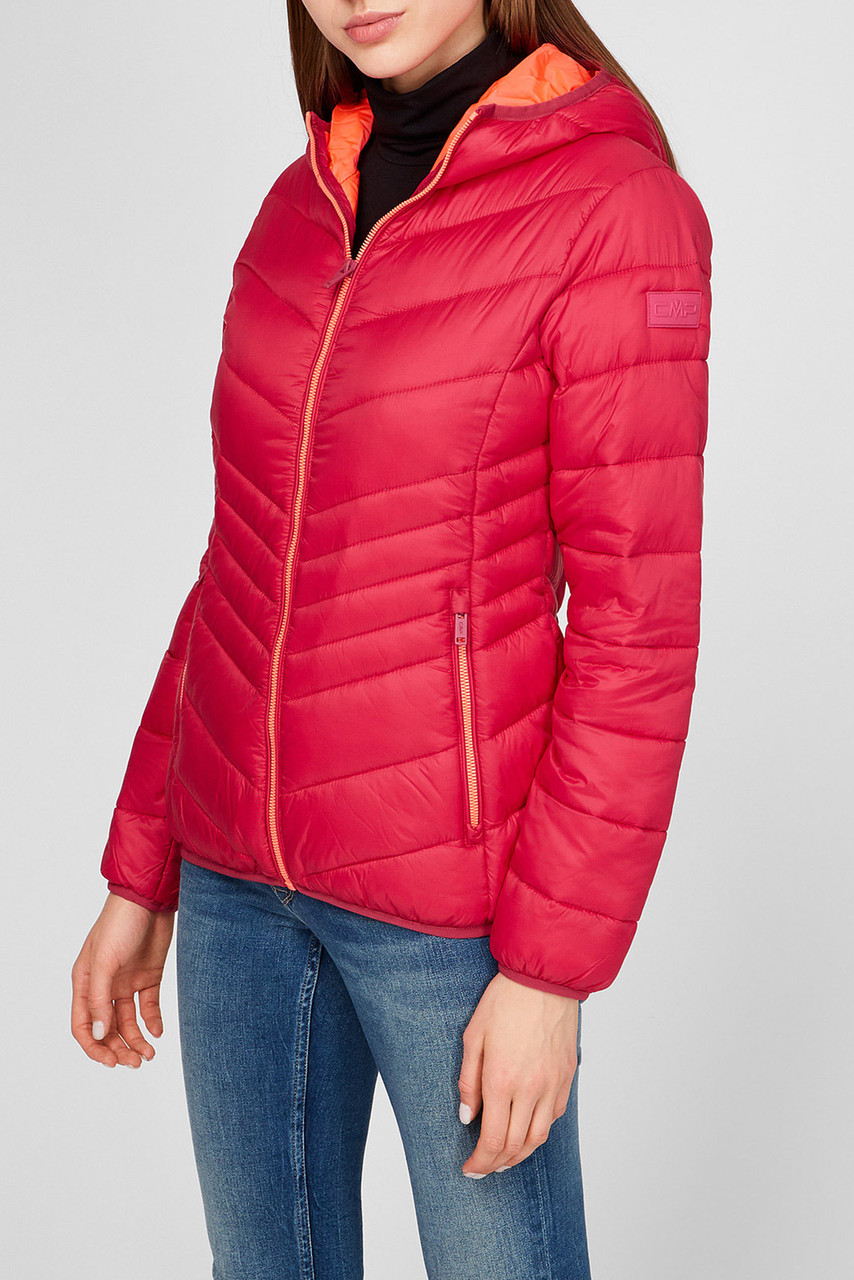 Женская куртка пуховик CMP Fix Hood 30K3656A-B873