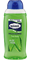 Шампунь-гель для душу Mil Mil Aloe Vera 500мл