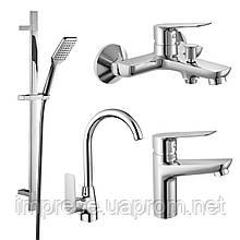 Набір змішувачів для ванни і кухні 4 в 1 kit30095