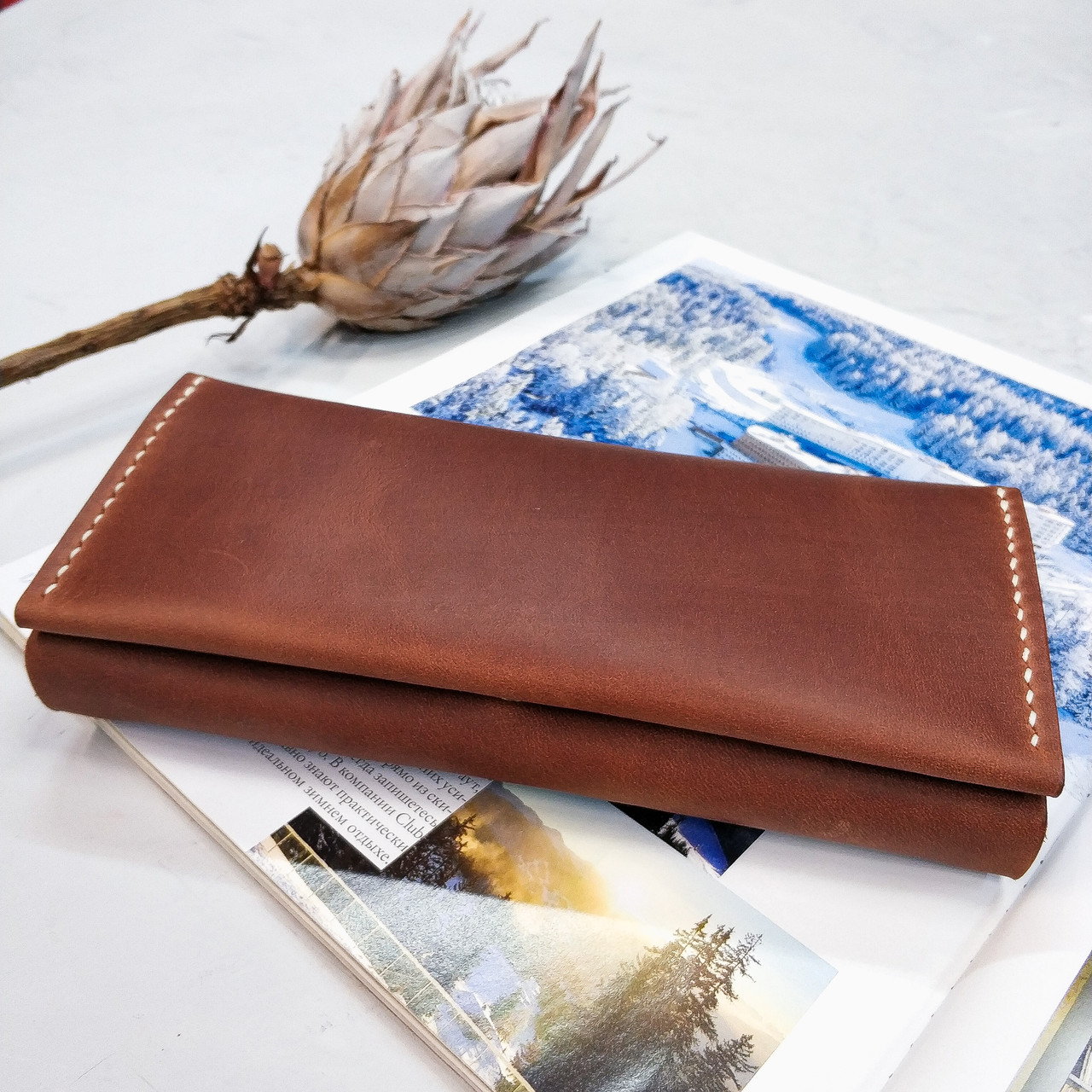 Женский кожаный кошелёк Жасмин Stedley