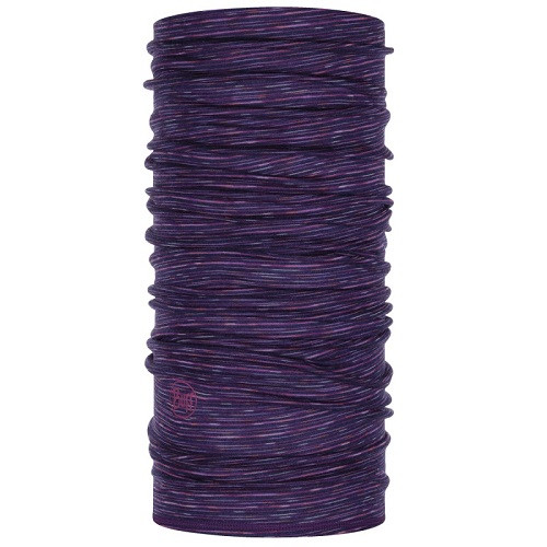 Lightweight Merino Wool Multi Stripes purple