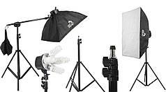 Набор постоянного студийного света на 5 ламп Louis Daguerre CA9029